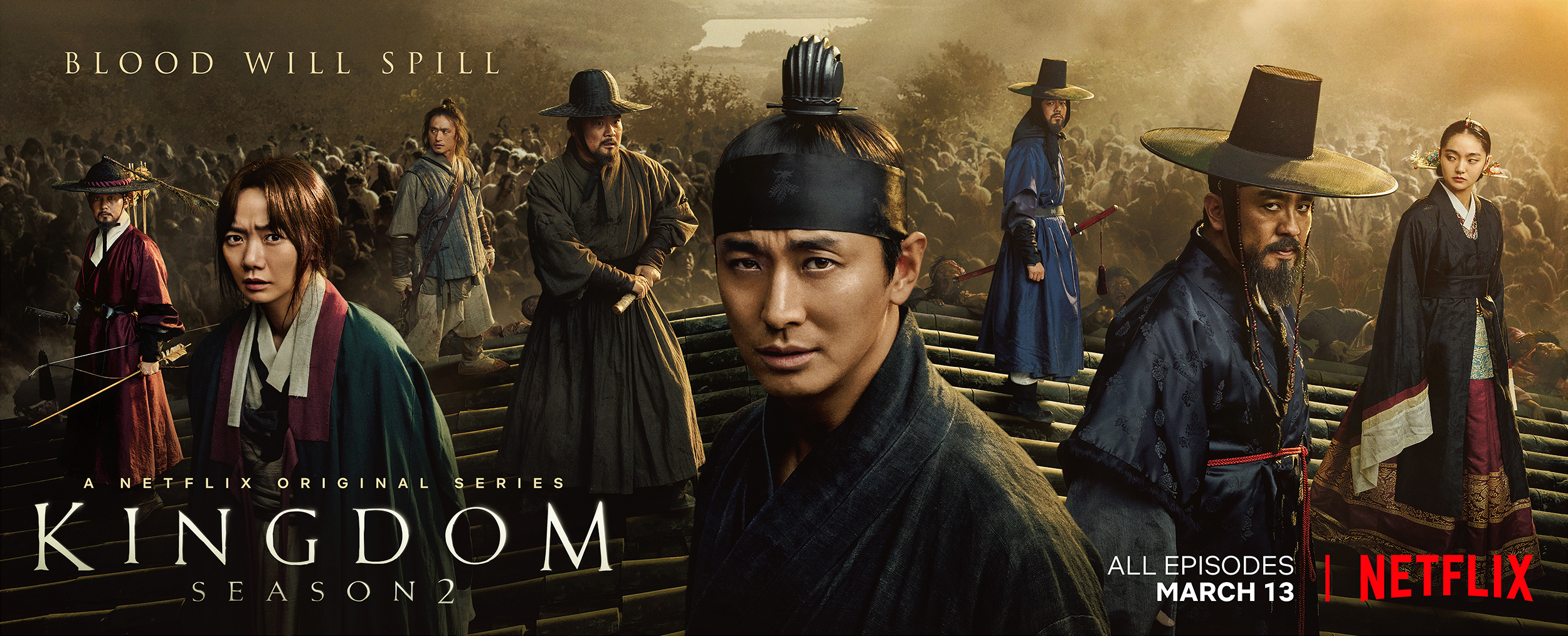 Season 2 of the Epic Korean Original Series Kingdom Premieres on March 13 - Image 1